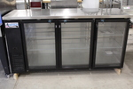 NEW  Glass Door Bar Back