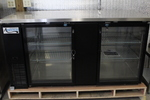 NEW glass door Bar Back Bottle Cooler