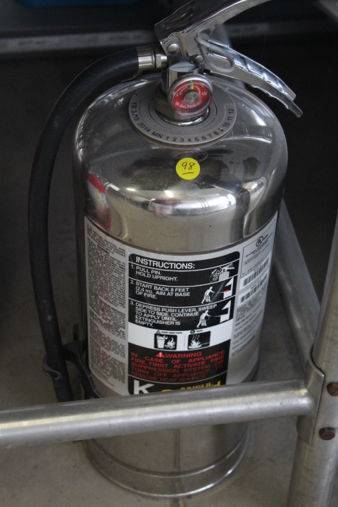 Ansul K-Guard Fire Extinguisher | Schorr's Restaurant and
