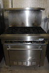 Garland Sunfire 6 burner range