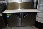 Beautiful  Turbo Air 4' Megatop refrigerated prep table