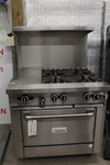 Garland Gas Range w/ Convection Oven - Gorgeous Piece - New