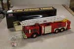 1998 Exxon Gold Collector's Edition Fire Rescue Truck - NIB