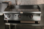 "Heavy Duty 36"" Thermostat Gas Griddle / flat top grill - Extra Depth & High output"