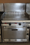 Vulcan Griddle / flat top grill w/ Oven