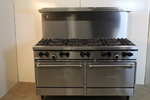 NEW Garland 10 Burner Range w/ double ovens
