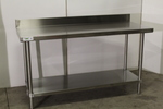 5' Stainless Steel Work Table