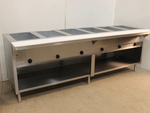 6 well steam table by Eagle - NEW
