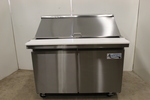 "NICE  48""  Mega-top Refrigerated Prep Station  -  NEW"
