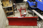 Toro Wheel Horse Snow Plow  for Garden Tractor  * see note