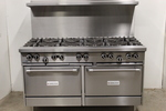 10 Burner range w/ Double Ovens by Garland