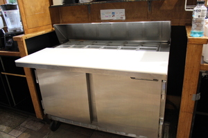 4' Refrigerated Prep station by Beverage Air