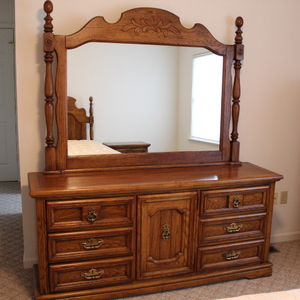 Dresser w/Mirror (2nd Floor)