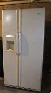 Side-By-Side Refrigerator/Freezer (Basement)